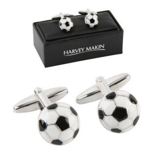 butoni minge de fotbal cadou barbati