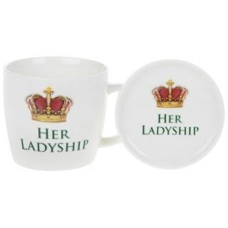 Cana cu capac her ladyship cadou sefa