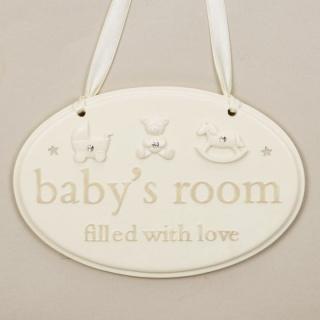 Placuta cadou camera bebelusului