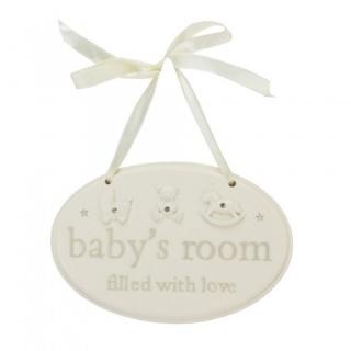 Placuta pentru camera bebelusului